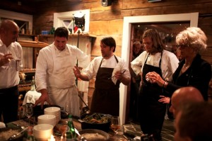Cook it Raw in Lapland, Into the wild